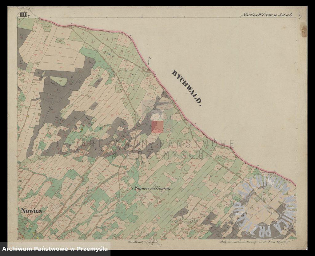 mapa-wsi-nowica-w-obwodzie-jasielskim-j-1850-3