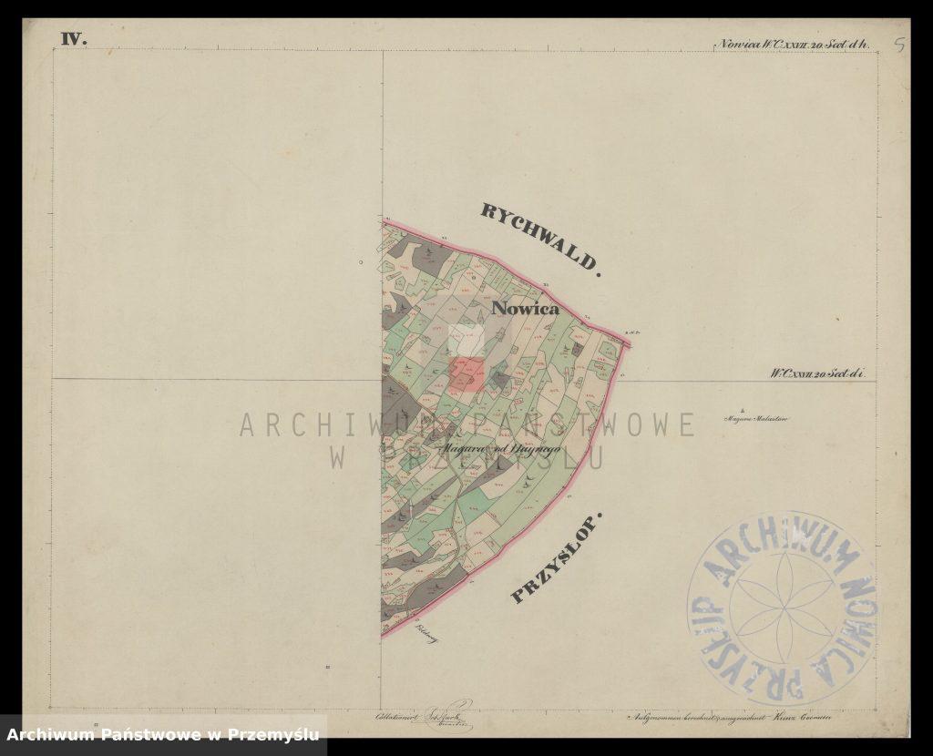 mapa-wsi-nowica-w-obwodzie-jasielskim-j-1850-5