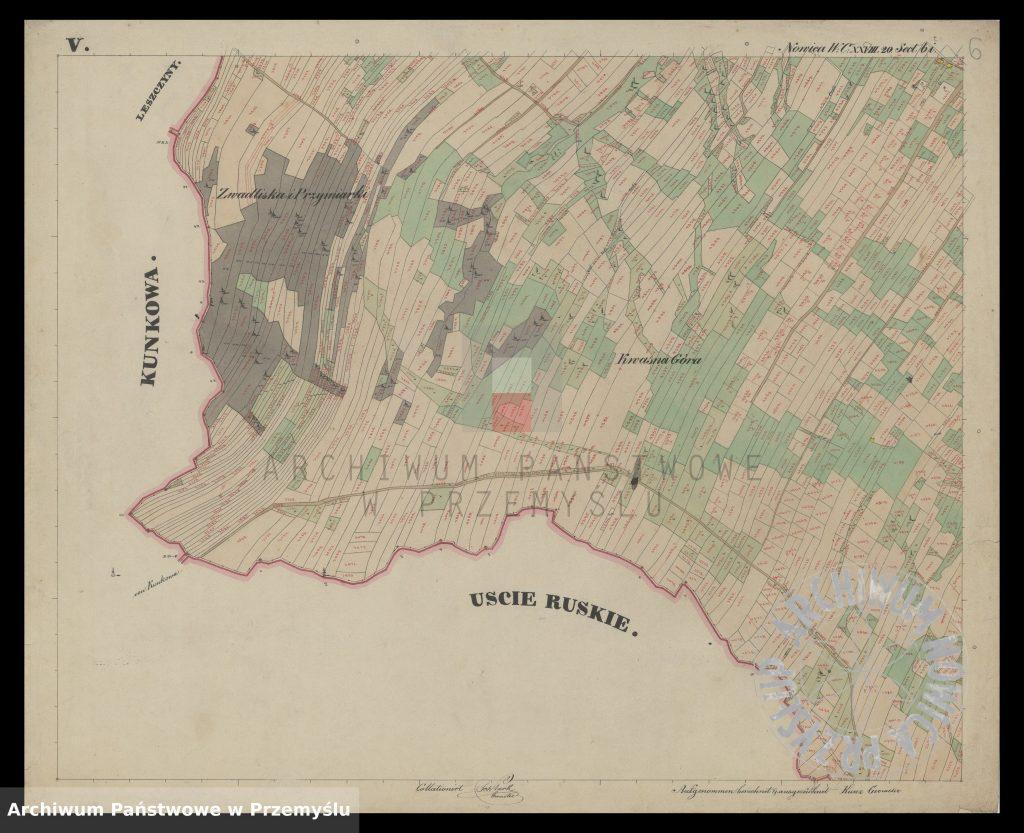 mapa-wsi-nowica-w-obwodzie-jasielskim-j-1850-6